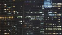 Lumières sur les fenêtres