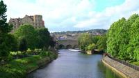 Pulteney Bridge in Bath, Engeland