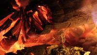 Die Hitze vom Feuer