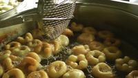 Turkiska kulturdesserter Donut Lokma deg