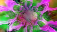 Rosa och grön abstrakt bakgrund