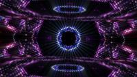 Boucle de fond de mur de lumière abstraite