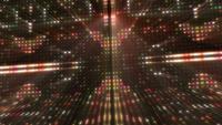 Fondo de pared de luces de colores