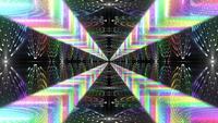 Abstrakte Tunnel-Hintergrundschleife