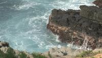Fuertes olas oceánicas en Phuket