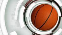 Fondo de técnica de baloncesto