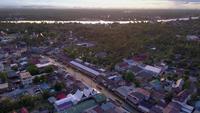 Mercado flotante de Ampawa, Tailandia.