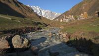Berge des großen Kaukasus, Georgia.