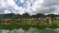 Het stadscentrum van Sapa Village, Vietnam