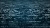 Fundo abstrato do código binário da tecnologia