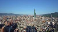 Taipei stadslandskap