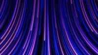 Seamless loop futurista resplandor neón fluir hacia adelante