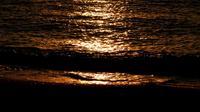 Bord de mer et soleil brillant