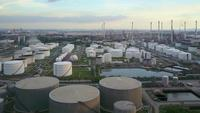 Oil and gas refinery plant factory