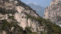 Landschap van Huangshan-Berg (Gele Bergen), China.