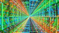 Neon Loop Motion Design Background
