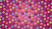 Rotierender Donuts-Hintergrund