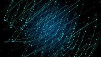 Spiral Plexus Linien und Punkte