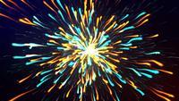 Multi Color Particle Explosion