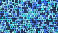 Blaue 3D-Balken