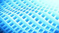 Abstract wave of squares background