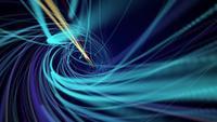 Linhas de velocidade em espiral