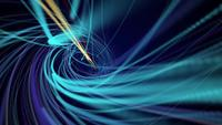 Lignes de vitesse en spirale