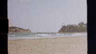Super 8 - Ondas rolando na praia
