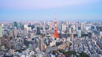 Tokyo gebouwen, Japan