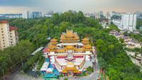 Thean Hou Tempel in Kuala Lumpur, Malaysia
