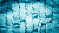 Abstract Wireframe Geometry Video Background