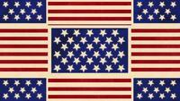 USA Flag Hintergrund