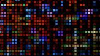 Tecnología futurista Abstracción de luz cuadrada