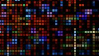 Abstração de luz quadrada de tecnologia futurista