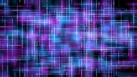 Futuristic Blue Light Grid