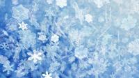 Kerst sneeuwvlokken vallen