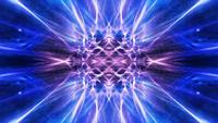 Ondulation et brillance des brins légers abstraits