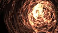 Abstracte schijnende lichten Fire Vortex