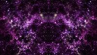 Kaléidoscope de voyage spatial multidimensionnel