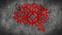 Gears Brain Background