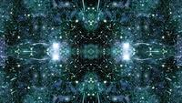 Star Field Space Travel Caleidoscoop