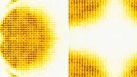 Écran de données de streaming abstrait