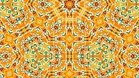 Formas abstratas de transe de techno hipnotizam