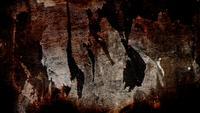 Dunkle Grunge Wand Textur