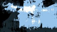Boucle de fond bleu grunge