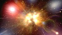 Deep Space Hintergrund