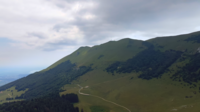 Drone Flying to the top of the Monte Baldo, Italy