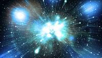 Bucle de fondo de espacio brillante