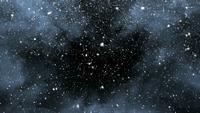 Zware sneeuwstormlus