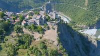 Village de Brugnello, Val Trebbia, Italie